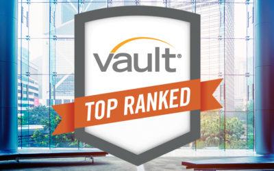 HTS Consulting distingué par le classement VAULT pour la 2ème fois !